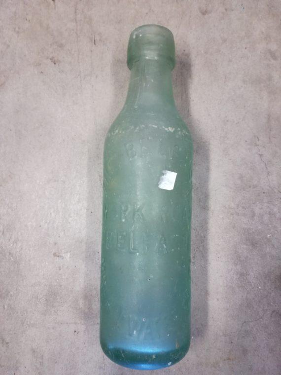 Vintage Bottle The Belfast Mineral Water Ltd York Road